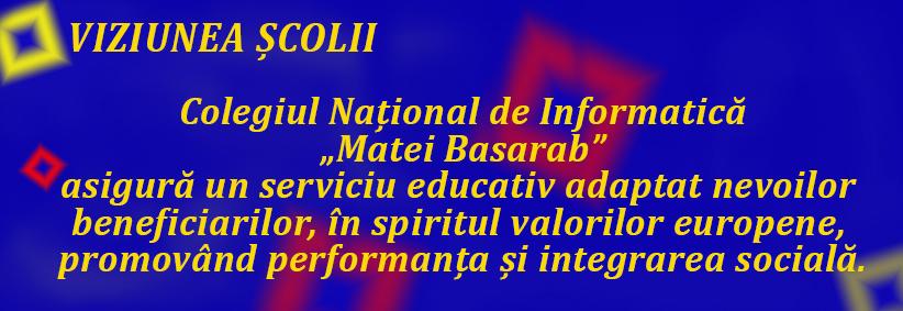 "Colegiul National de Informatica ""Matei Basarab"" Rm. Valcea"
